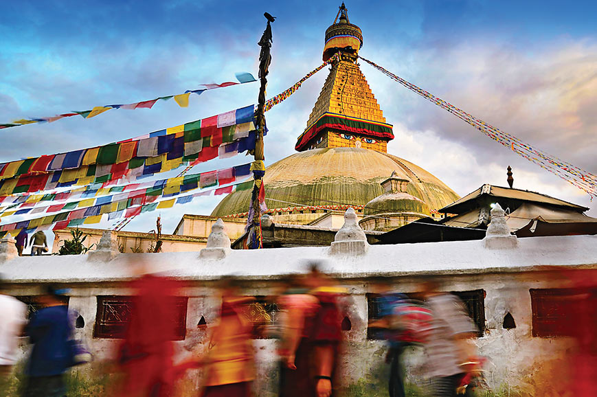 Escorted Tour India And Nepal