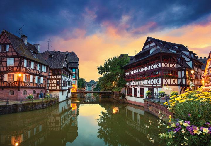 Rhine, Strasbourg & Heidelberg