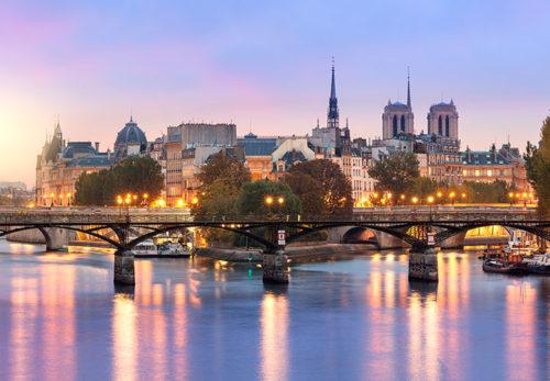The Seine, Paris & Normandy