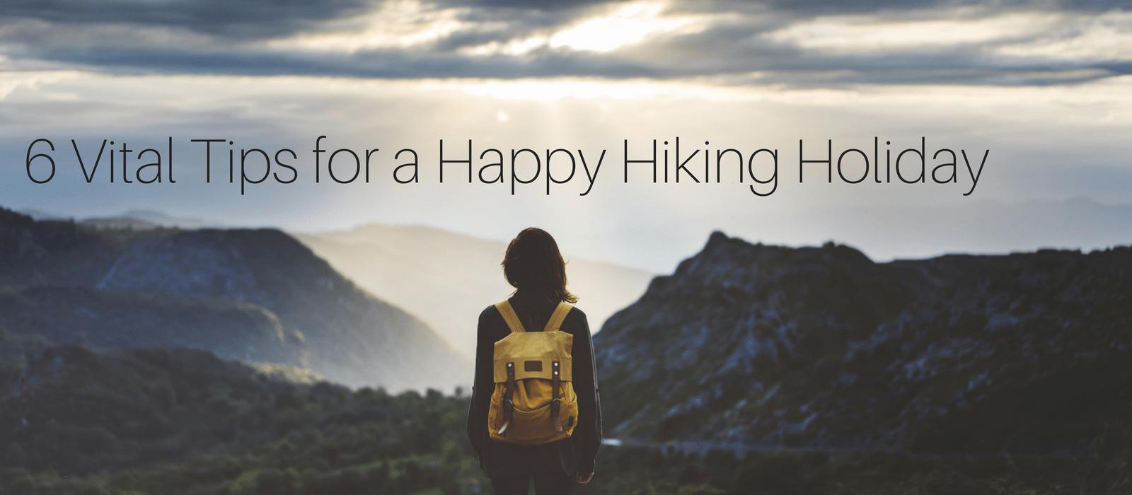 hiking holiday