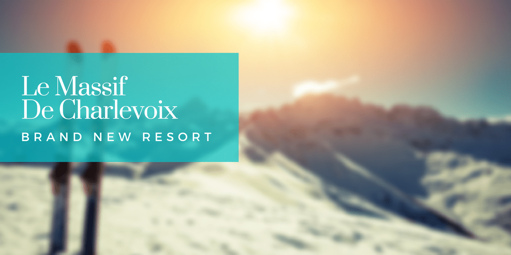 Club Med Le Massif De Charlevoix new ski resort