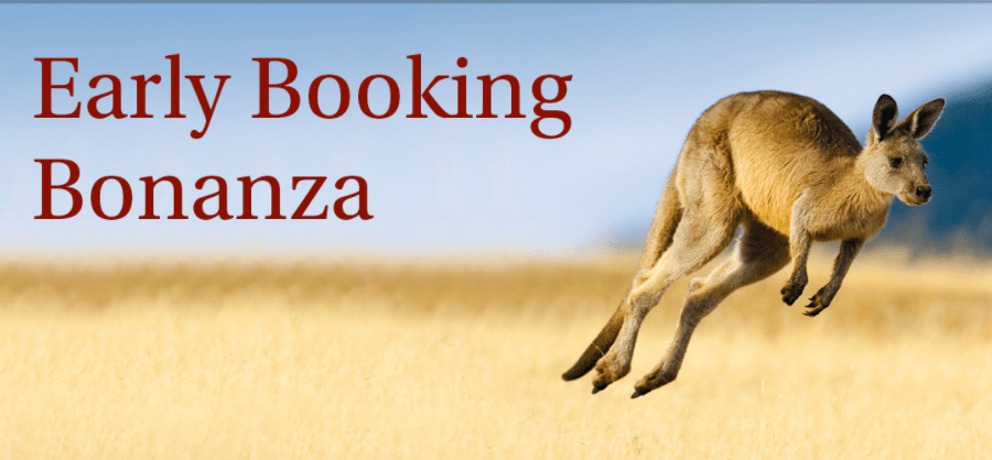 Titan travel early booking bonanza
