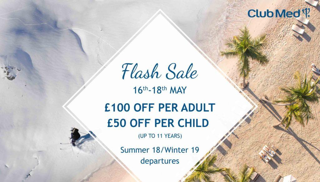Club Med flash sale