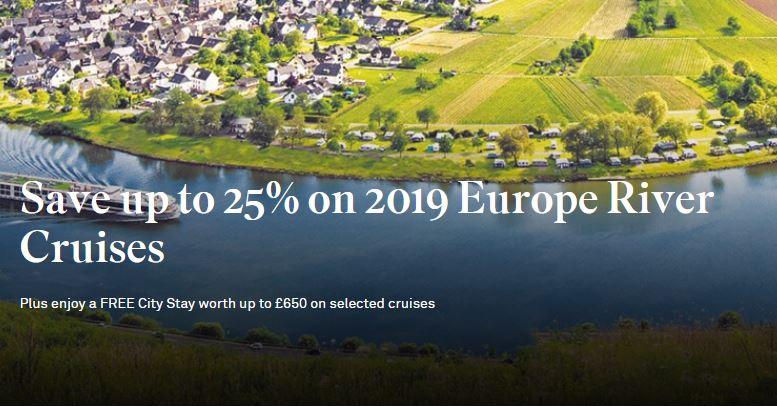 Scenic river cruises 2019