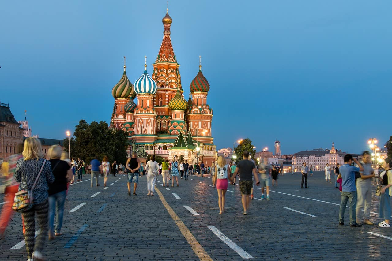 top 5 touring holidays - classic russia