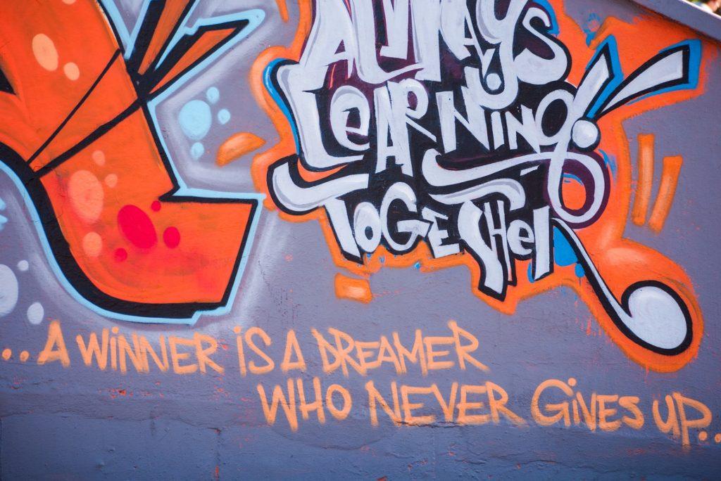 durban - nelson mandela graffiti