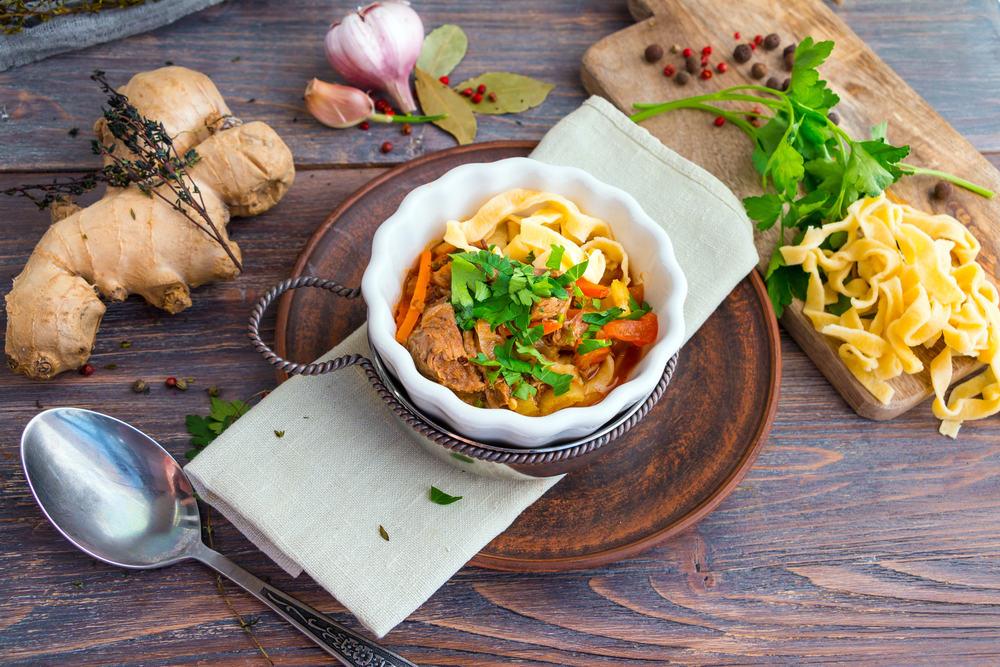 lagman soup - uzbek cuisine