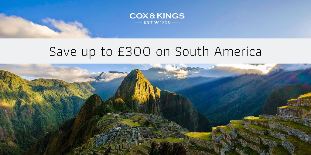 South america Cox and kings