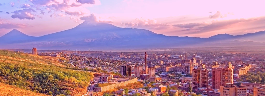 Yerevan the Capital of Armenia