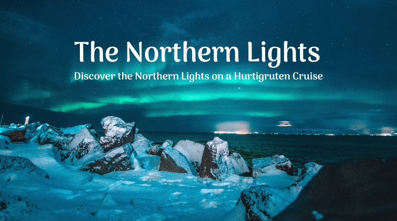 the northern lights with hurtigruten