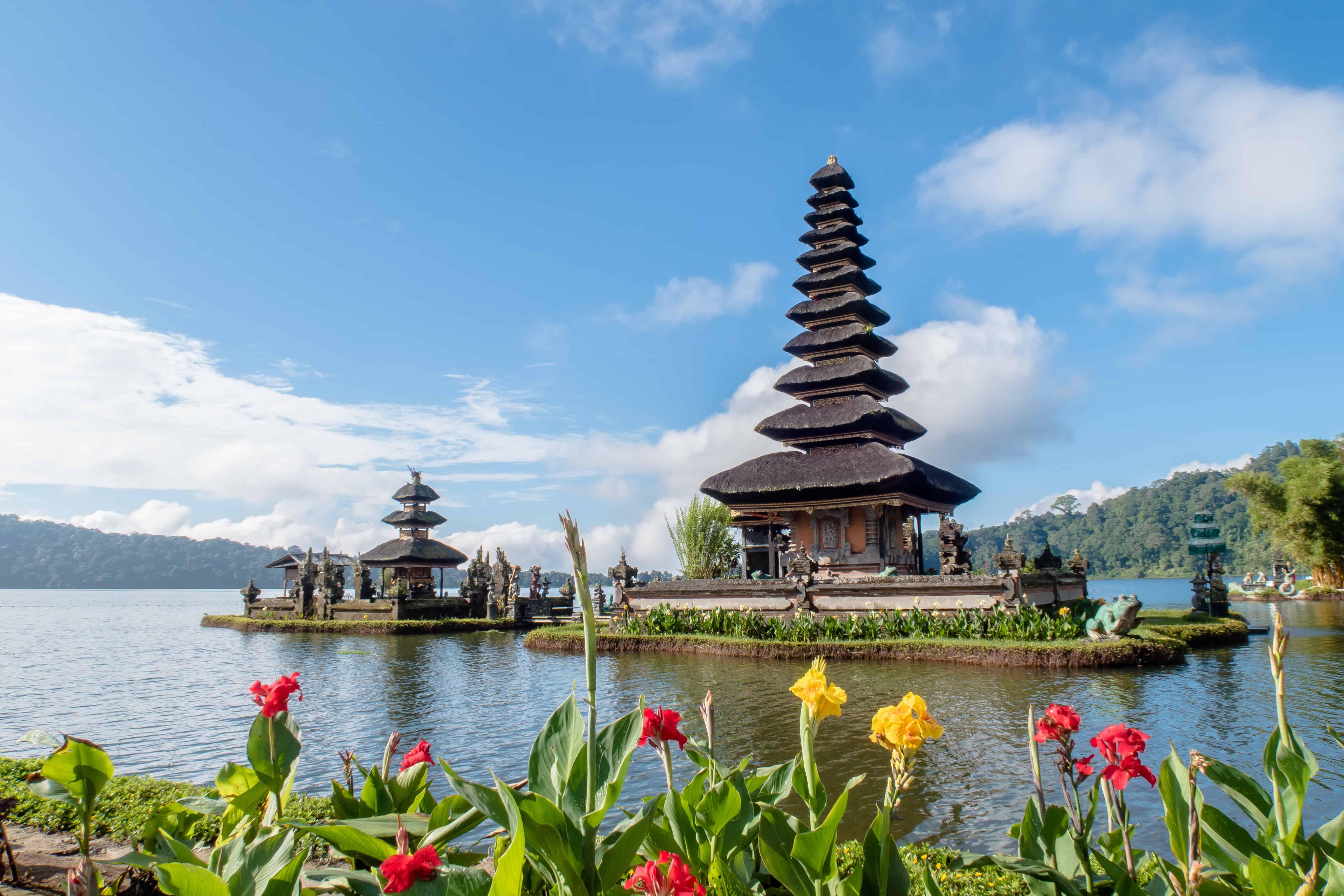 Stunning Balinese temple