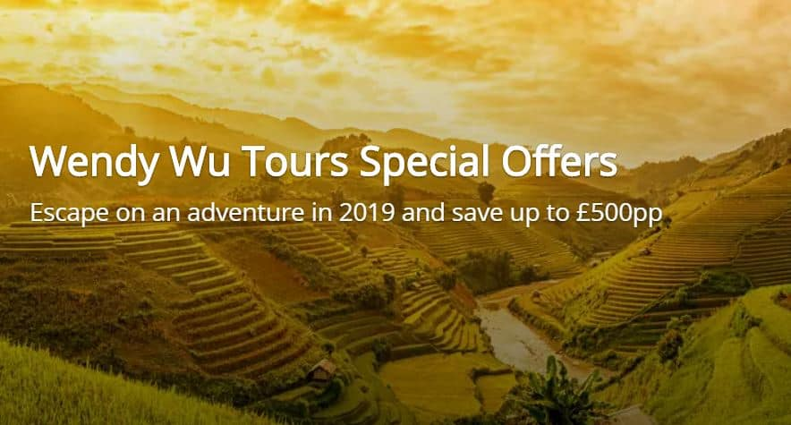 wendy wu tours 2019 offers
