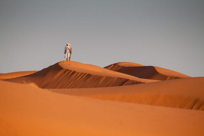 Bedouin Sahara desert