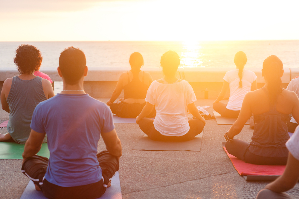 Yoga Holidays on the beach