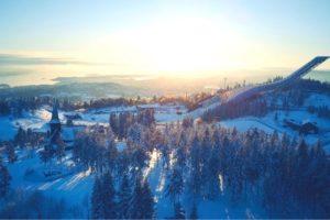 Mountain area in Oslo