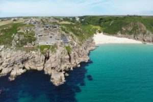 Blue Waters and Cornwall beach